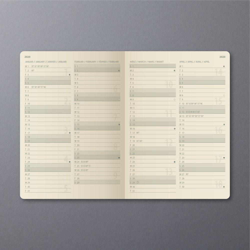 Conceptum Kalender 2020 Hardcover Sigel Bei Bürotec